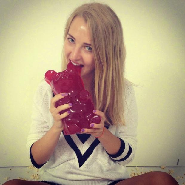 Caroline Mason gummy bear